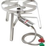 Bayou Classic Stainless Single Jet, 14″ wide, 10 psi