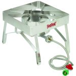 Bayou Classic Stainless Brew Cooker, 16″x16″, 10 psi