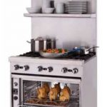 Blodgett 36″ wide single deck stainless steel high shelf