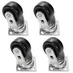 Bakers Pride Casters, set of 4 (2 w/brakes and 2 w/out), for 24/36″ ranges