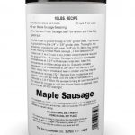 Breakfast Sausage Seasoning Maple Fresh – Makes 50 lbs