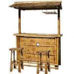 AmeriHome Bamboo Tiki Bar Set