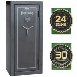 Buffalo 24 Gun Electric Lock Fire Resistant Gun SafeGUNSAFE24B