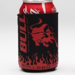 Bull Outdoor Bull Can Koozies Black