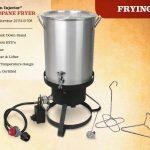 Cajun Injector Gas Turkey Fryer (Knock Down) NO Valve, w/Timer, w/T-Star