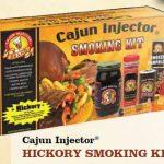 Cajun Injector Hickory Smoker Kit