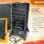 Cajun Injector Gas Vertical Smoker (Black, single door)