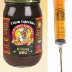 Cajun Injector Hickory BBQ With Injector, 6 Pack