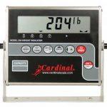 Cardinal Detecto digital weight indicator, Model# 204