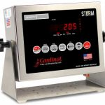 Cardinal Detecto LED Digital Weight Indicator, NEMA 4X stainless steel enclosure, AC adapter, Model# 205