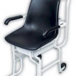 Cardinal Detecto chair scale digital 180 kg x .1 kg lift away arms and foot rests