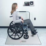 Cardinal Detecto dialysis in floor scale 36'x36′ 1000 lb x .2
