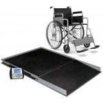 Cardinal Detecto wheelchair scale digital geriatric stationary 1000 lb x .2 lb/ 450 kg x .1 kg platform 36″ x 36″