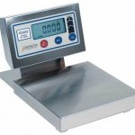 Cardinal Detecto digital dough scale 30 lb x 1/4 oz 12″x12″ platform