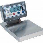 Cardinal Detecto digital dough scale 60 lb x 1/4 oz/30 kg x .002 kg 14″x12″ platform