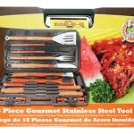 Mr. BBQ 18 Pc Gourmet Stainless Steel Tool Set
