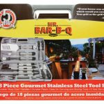 Mr. BBQ 18 Pc Oval Stainless Steel Tool Set