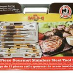 Mr. BBQ 18 Pc Classic Prestige Rubber Grip Tool Set