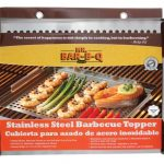 Mr. BBQ Platinum Prestige Stainless Steel Grill Topper, 16″X12″