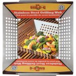 Mr. BBQ Platinum Prestige 12″X12″ Stainless Steel Wok Topper