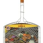 Mr. BBQ 27″ Oversized Silver Non-Stick Grill Basket