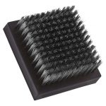 Mr. BBQ 10″ Replacement Brush Head, Stainless Steel Bristles