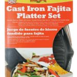 Mr. BBQ Classic Prestige Cast Iron Fajita Platter Set