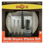Mr. BBQ 15″ Round Pizza/Baking Stone Kit