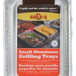 Mr. BBQ Small Aluminum Grilling Pans
