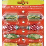 Mr. BBQ Mixed Bbq Themed Shaped Corn Skewers, 8 Pcs