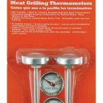 Mr. BBQ 2 Pc Meat Thermometer (Beef, Chicken)