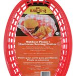 Mr. BBQ Outdoor Picnic / Bbq Serving Platter, 4 Pack