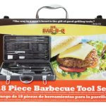 Mr. BBQ 18 Pc Tool Set With Plastic Case