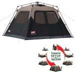 Coleman Instant Tent 6 with Pre-Attached Poles