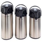 Crestware 2.5 Ltr Stainless Lined Airpot