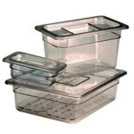 Crestware Pc Food Pan Half X 8″