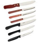 Crestware Round Tipped Wood Hndl Steak Knife