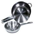 Crestware 8″ Stainless Steel Fry Pan