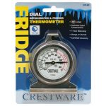 Crestware Dial Refrig/Frzer Thermometer
