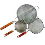 Crestware 14″ Hd Double Mesh Strainer