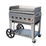 Crown Verity Mobile Outdoor Griddle 36″ – Nat Gas.