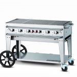 Crown Verity Rental Grill 48″ – Single Inlet