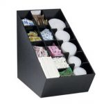 Dispense Rite Countertop lid, straw, condiment and napkin organizer, Model# NLO-CTVL