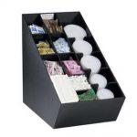 Dispense Rite Countertop lid, straw, condiment and napkin organizer, Model# NLO-CTVL
