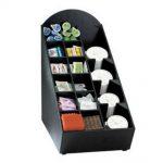 Dispense Rite Countertop lid, straw, condiment and napkin organizer, Model# NLO-WVL