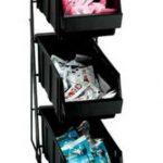 Dispense Rite Three compartment wire rack condiment organizer