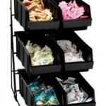 Dispense Rite Six compartment wire rack condiment organizer