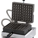 Krampouz Single waffle maker – 90° opening