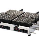 Krampouz Double waffle irons – 180° opening