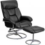 Flash Furniture Black Leather Recliner and OttomanBT-70230-BK-CIR-GG